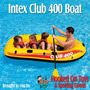 Bote Inflable Para 4 Personas Club 400 Marca Intex