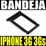 Bandeja Porta Sim Card Apple Iphone 3g 3gs Plastica Negra