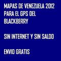 Mapas Gps Venezuela Para Blackberry Sin Internet Envio Gra