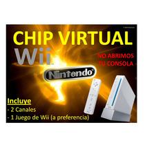 Chip Virtual Wii + 2 Canales + Sorpresa (zona De Indio Mara)