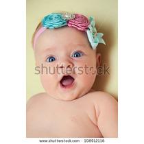 Coquetas Y Hermosas Cintas Elásticas Para Bebes Y Niñas