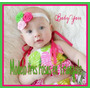 Hermosas Y Encantadoras Cintas Elásticas Para Bebes Y Niñas