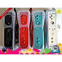 Control Nintendo Wii Remote Motion Plus Integrado + Silicon