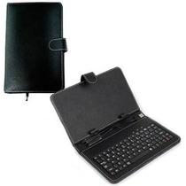 Estuche Protector Forro + Teclado Usb Tablets 8 Pulgadas