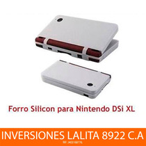 Forro De Silicon Para Nintendo Dsi Xl