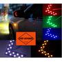Luz Led De Cruce Para Cualquier Retrovisor Carros Motos