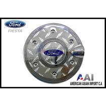 Tapa Gasolina Cromada - Ford Fiesta