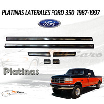 Platina Lateral Ford 350 87-97