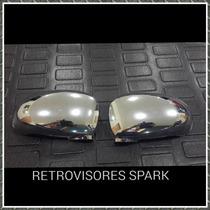 Retrovisores Cromados Spark