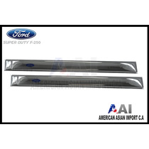Sobre Platina Lateral Abs / Ford Superduty F250
