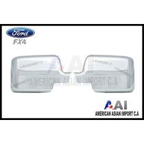 Cubre Espejos Cromados / Ford Fx4