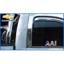 Pilares Cromados - Chevrolet Silverado 2007 (2 Puertas)