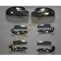 Kit Cromado Aveo Sedan 4 Puertas 2005-2010