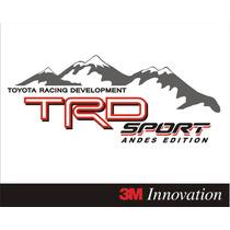 Calcomania Stickers Trd Andes Edition Hilux, Autana, Tundra