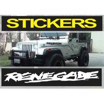 Calcomania Para Jeep Renegade