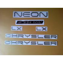 Kit De Emblemas Para Chrysler Neon