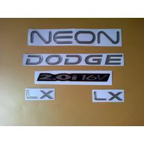 Kit De Emblemas Para Dodge Neon Del 2004 Al 2006