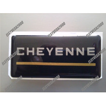 Emblema Para Parales De Puertas De Chevrolet Cheyenee