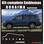 Calcomania Sticker Emblemas Para Toyota Roraima Land Cruiser