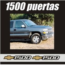 Kit Calcomanias Stikers 1500 Silverado Y Cheyenne