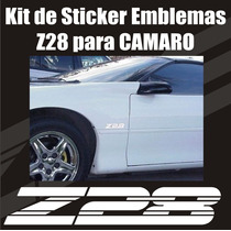 Kit Calcomanias Stickers Z28 Para Camaro