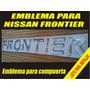 Emblema Calcomania Para Compuerta Nissan Frontier