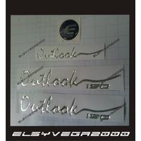 Kit Calcomanias Emblemas Para Moto Empire Benelli Outlook