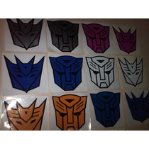 Calcomanias Emblemas De Transformers Para Carros Y Motos