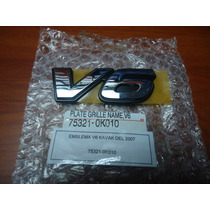 Emblema Parrilla Careta Camisa V6 Hilux Fortuner Nuevo