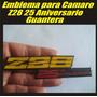 Emblema De 25 Aniversario Camaro Z28 Guantera.