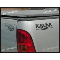 Kit Completo Calcomania Kavak Para Toyota Hilux 3 Piezas