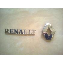 Kit De Emblemas Traseros Para Renault Logan