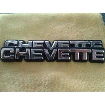 Emblema Chevette