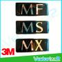 Emblema Mitsubishi Mf Ms Mx Al Relieve Marca 3m Garantizado