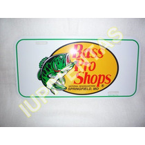 Placa Color Blanco 100% Original Bass Pro Shops Iupiventas