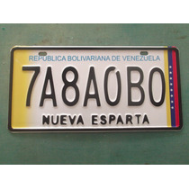 Copia De Placa Para Taxi Bus Porpuesto Estampada Con Relieve