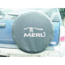 Forro De Caucho Toyota Meru En Semi Cuero Negro