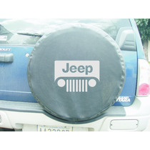 Forro De Caucho Jeep En Semi Cuero Negro