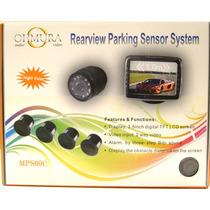 Sensor De Retroceso 4 Sensores Y Cámara Vision Nocturna