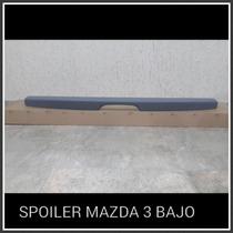 Spoiler Mazda 3 Bajo