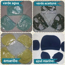 Conjunto De Gorro Manoplas Y Escarpines