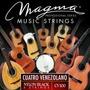 Cuerdas Para Cuatro Profesional Magma Cv100