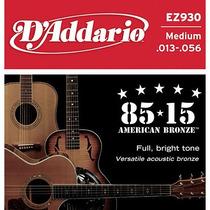 Set De Cuerdas D Addario Bronce Para Guitarra Acústica 013