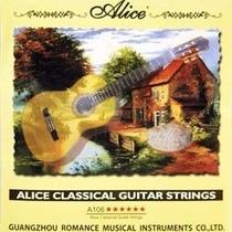 Cuerdas De Guitarra Clásica Alice A106 Fuerte Tensión