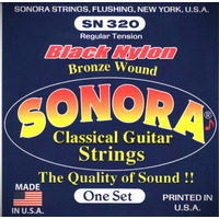 Set De Cuerdas Sonora Nylon Para Guitar-clasic Made In U.s.a
