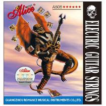 Cuerdas De Guitarra Alice A506 Super Delgada