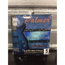 Cuerdas Palmer Para Bajo Electrico 4 Y 5 Cuerdas