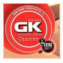 Cuerdas Gk Para Guitarra Electro-acusticas 010-046 Nuevas