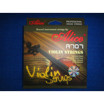 Vendo Cuerdas Para Violin Marca Alice A707