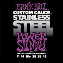 Cuerdas Ernie Ball Guitarra Electrica Power Slinky De Acero